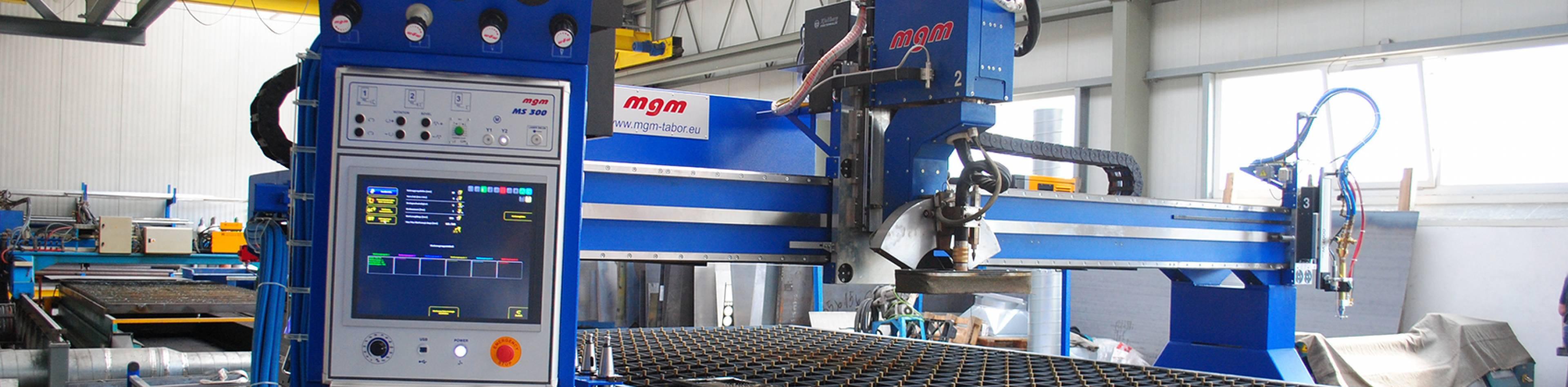 MGM lasersko, plazma i gasno sečenje metala - Var Sistem