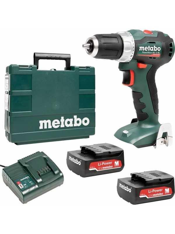 Metabo PowerMaxx BS 12 BL - Var Sistem