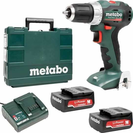 Metabo PowerMaxx BS 12 BL - Var Sistem