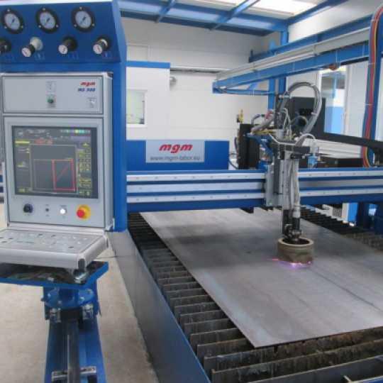 MGM Omnicut mašina za plazma ili gasno rezanje metala - Var Sistem