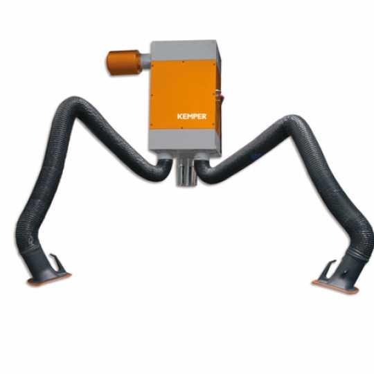 Kemper stacionarna ketridž filter jedinica sa 2 usisne ruke - Var Sistem