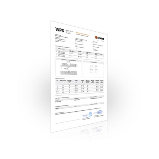 Univerzalni WPS za REL (MMA) zavarivanje cevi, Var Sistem