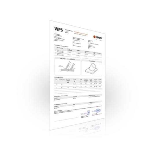 Kemppi WPS zavarivački standardi - Var Sistem