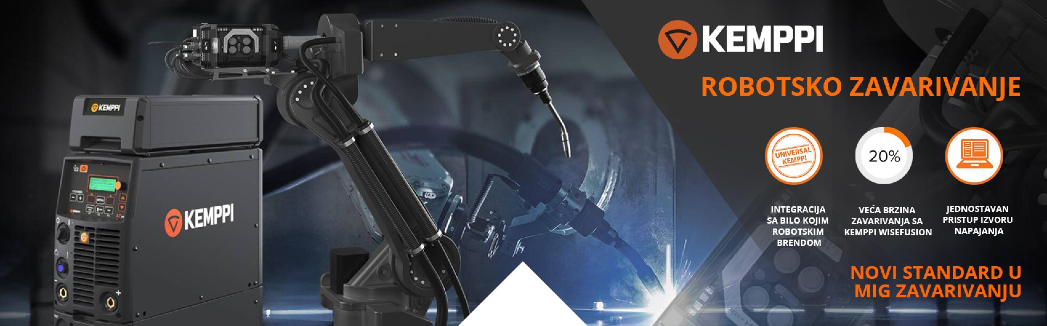 Kemppi A7 robotsko zavarivanje - Var Sistem
