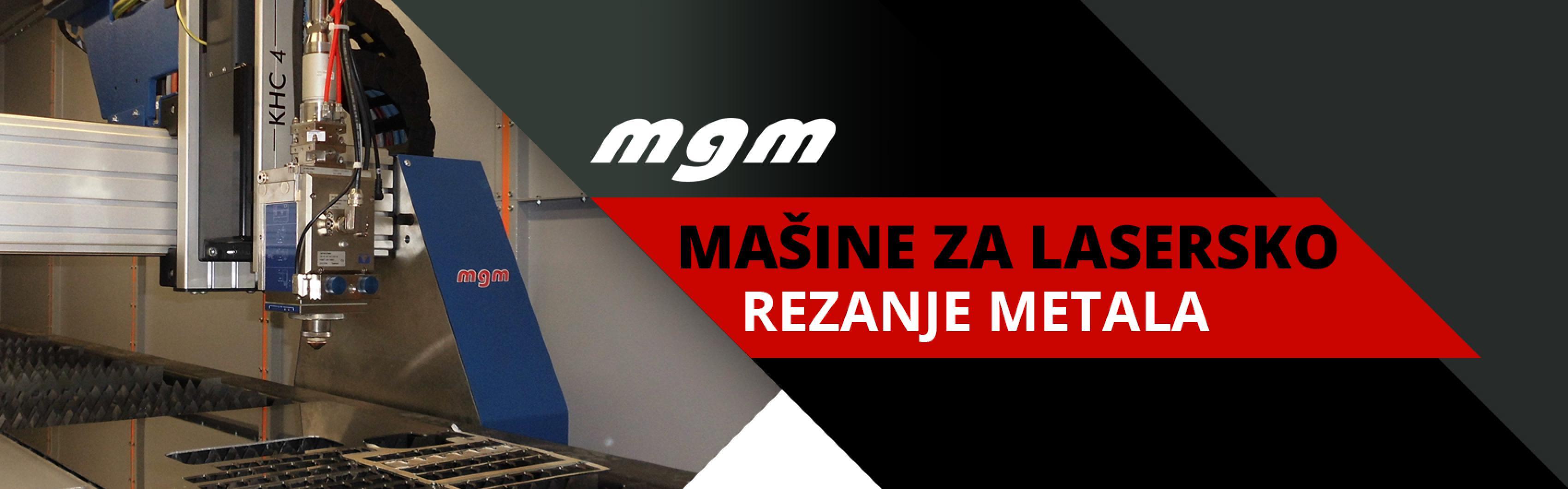 MGM lasersko sečenje metala Var Sistem